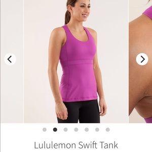Lululemon Swift tank-ultra violet size 6